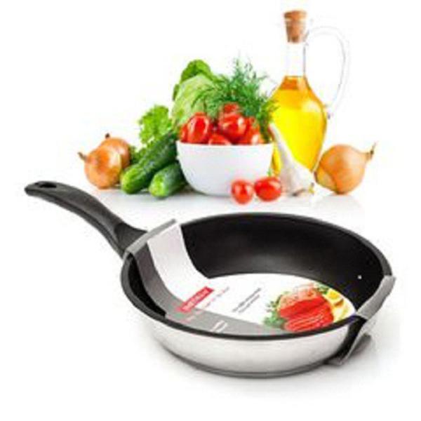 Chảo chống dính 3 đáy inox 304 Fivestar ( 24cm /28cm )- sử dụng bếp từ - bảo hành 5 năm