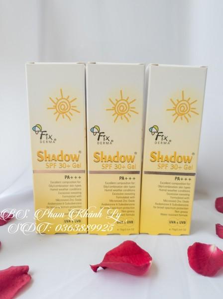 Kem chống nắng  Fixderma Shadow SPF 50+ Cream