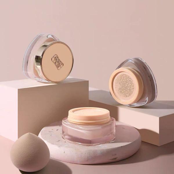 Kem Nền Che Khuyết Điểm Lâu Trôi GOGOTALES Natural Foundation Cream GT198 Kèm Bông Phấn [ GOGO TALES ] giá rẻ
