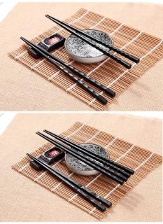 sản phẩm 10 đôi đũa nhựa đen phíp GD149 thumbnail