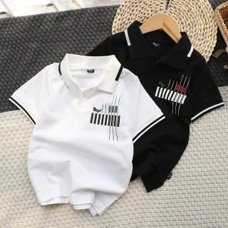 Áo phông cho bé trai polo cho bé từ 2 đến 12 tuổi size từ 6-40kg thumbnail
