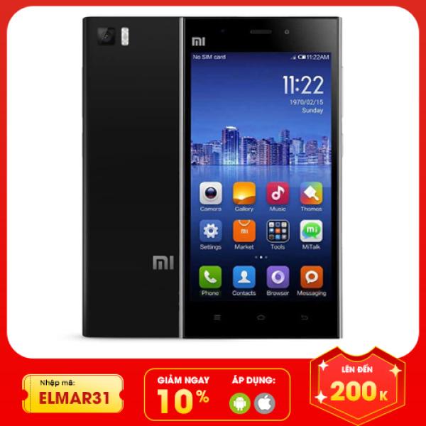 [Nhập ELMAR31 giảm 10% tối đa 200k đơn từ 99k]Điện thoại Xiaomi cũ giá rẻ MI 3W RAM 2GB bộ nhớ 16GB màn hình 5in IPS sắc nét