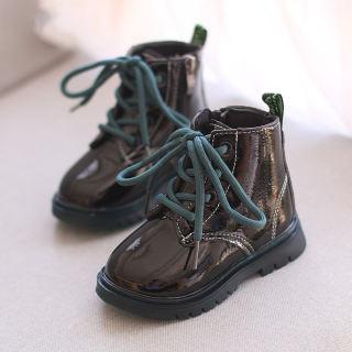 Giày Trẻ Em Theo Xu Hướng Bốt Martin Kiểu Anh Cho Bé Trai Bé Gái Giày Đi Bộ Thời Trang 1-2-3 Tuổi