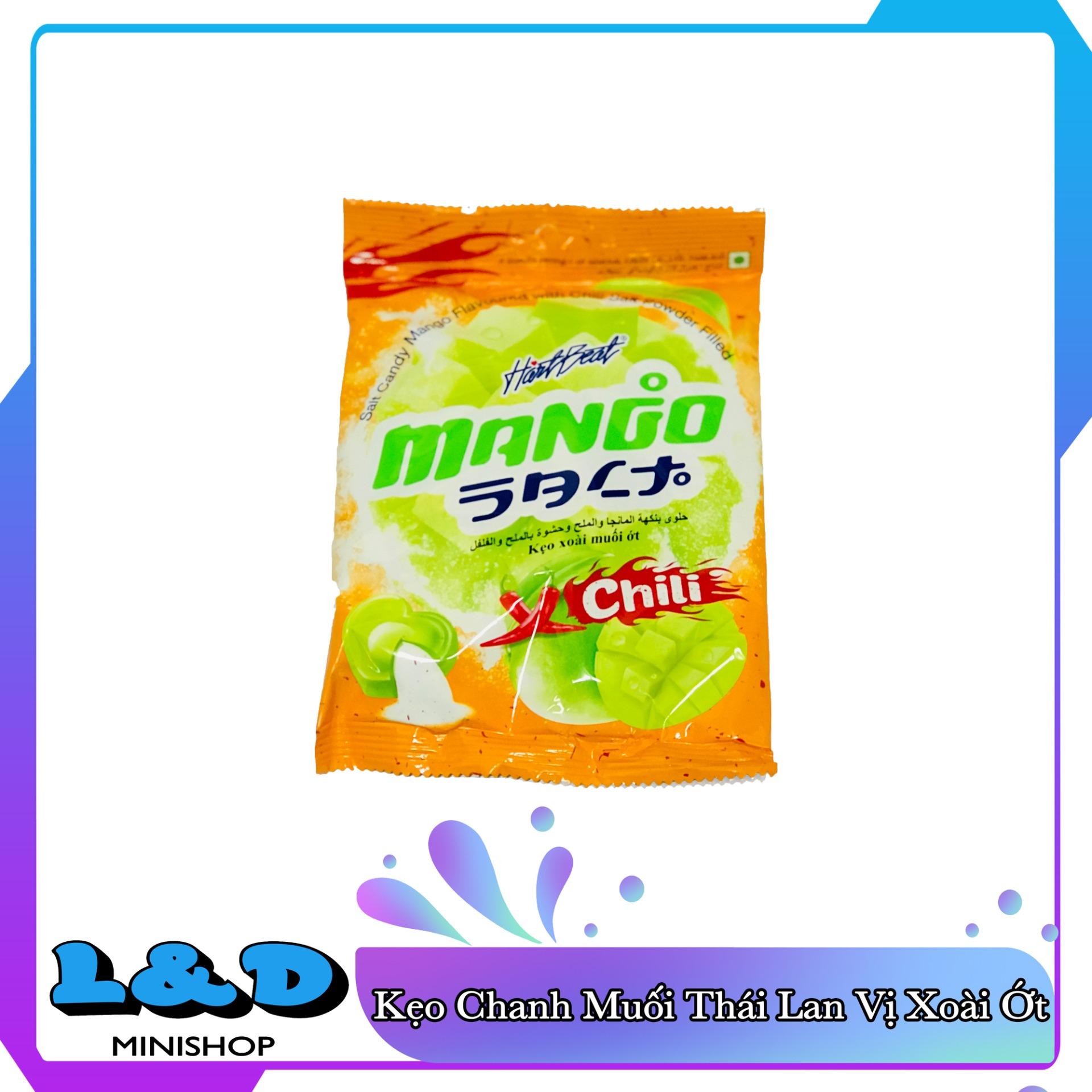 [HCM]Kẹo Xoài Muối Ớt Thái Lan 120gr