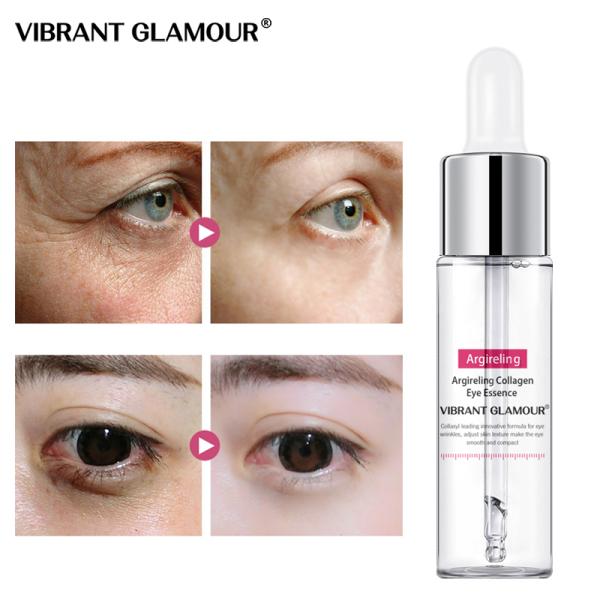 VIBRANT GLAMOUR Tinh chất dưỡng mắt Collagen chống lão hóa bọng mắt xóa quầng thâm 15ml - INTL nhập khẩu