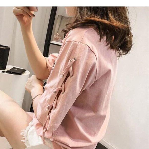 [TRANGLINHLUXURY88] áo nữ hoodies, sweatshirts,áo thun ,áo kiểu hàng chất đẹp, giá mềm nt6232