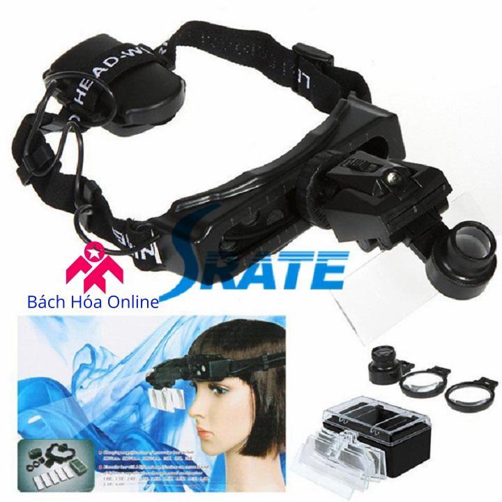 Kính lúp đeo trán có đèn V3 - Dụng cụ hỗ trợ sửa chữa, hàn mạch
