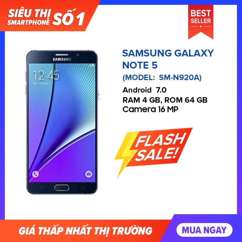 Samsung galaxy Note 5 bộ nhớ 32G/64G ram 4G đủ màu  - Fullbox