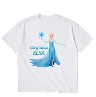 Áo thun bé gái Công Chúa Elsa BGM24 Thời Trang Elsa thumbnail