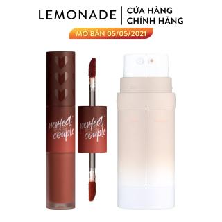 Combo Lemonade Kem nền Perfect Couple Dual Foundation 30g và Son kem Perfect Couple Lip Fashionistar 8g thumbnail