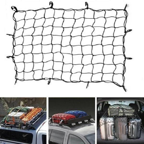 Lưới thun ràng đồ mui xe bán tải SUV 120x90cm, Lưới thun trùm hàng xe bán tải - Cơ Khí Liên Sơn