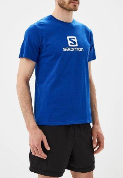 Áo thun thể thao Suunto - Salomon Logo Cotton Tee M