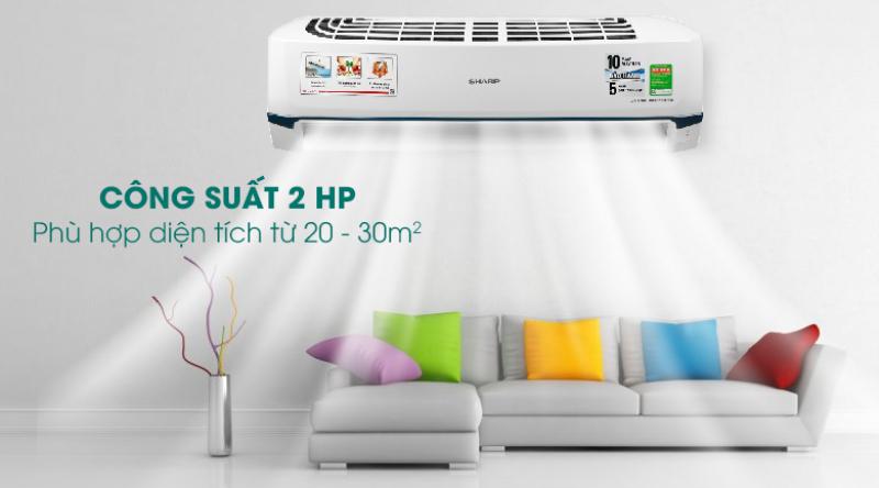 Máy lạnh Samsung Inverter 2 HP AR18TYHYCWKNSV - Miễn phí vận chuyển và lắp đặt - Bảo hành chính hãng chính hãng
