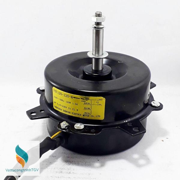 Motor vỏ đen 220V-120W xuôi chiều thay thế cho quạt điều hòa hơi nước