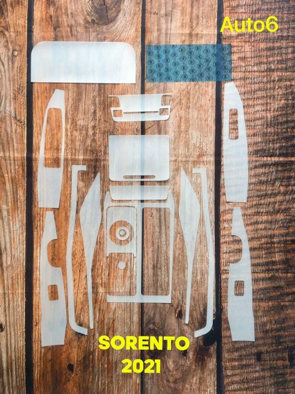 Sorento 2021: Full bộ dán PPF bảo vệ nội thất