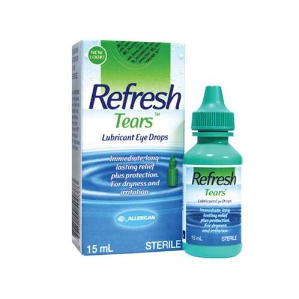 THUỐC NHỎ MẮT REFRESH TEARS MỸ DẠNG CHAI