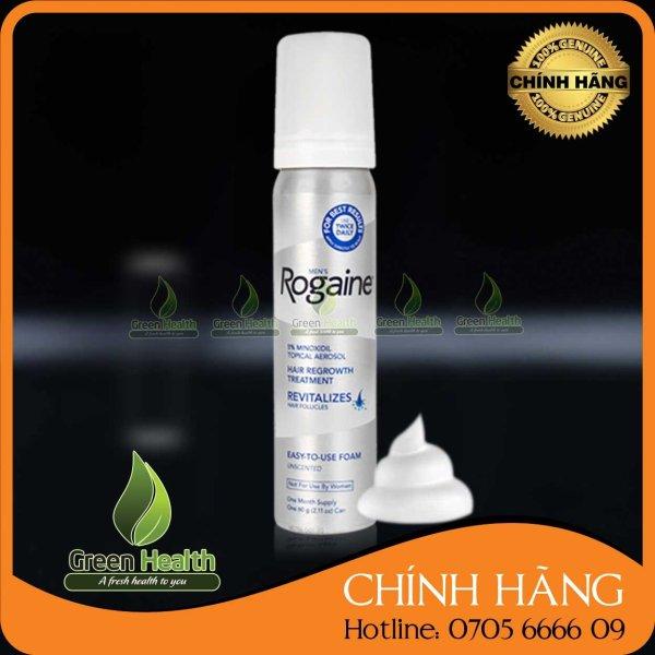 Minoxidil 5% Rogaine dạng bọt giá rẻ