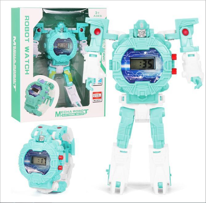Nơi bán Đồng Hồ Điện Tử Dành Cho Trẻ Em Biến Hình Robot 2 Trong 1