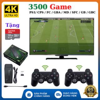 (Tặng thẻ 32GB Sandisk) Máy chơi game cầm tay PS 3500 Game Ps1 Ps2 Nitendo switch FC Compact FC , kết nối HDMI, , playstation , Máy chơi game , Máy chơi game sup , Máy chơi game 4 nút , Máy chơi game mini , Máy chơi game nintendo switch thumbnail