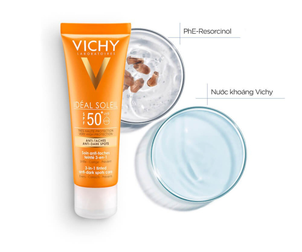 Kem chống nắng Vichy Ideal Soleil SPF50+ Pháp nhập khẩu