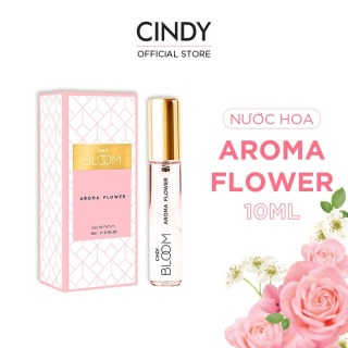 [QUÀ TẶNG KHÔNG BÁN] Nước hoa Cindy Bloom Aroma Flower 10ml - Ngọt Ngào thumbnail