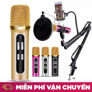 ( SALE 50% ) Mic Thu Âm , Micro livestream C11, Micro livestream giá rẻ - Mua ngay Micro C11 ( Loại 1, Đủ Phụ Kiện) , Thu Âm, Hát Karaoke, Livestream trên điện thoại 3 in 1 - Bộ micro thu âm karaoke livestream cực đỉnh C11 cho bạn trẻ thumbnail