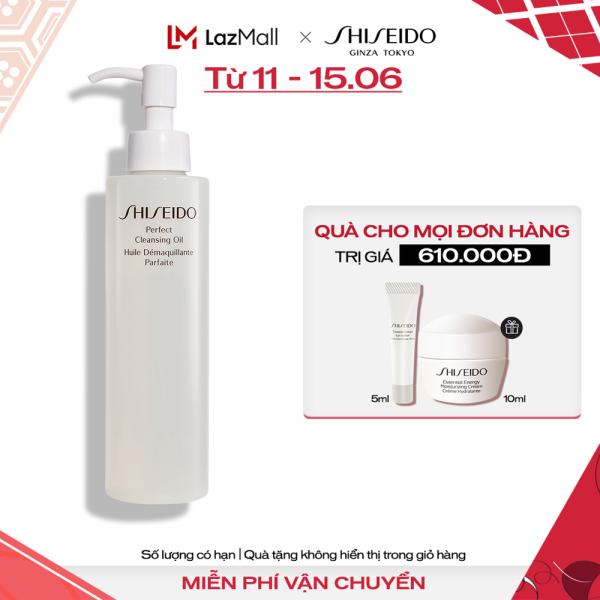 Dầu tẩy trang Shiseido Perfect Cleansing Oil 300ml