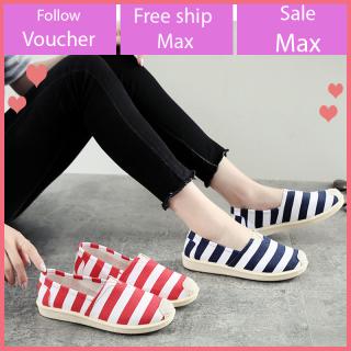 Giày búp bê nữ đẹp vải đi êm chân, hài búp bê hot 2021 cao 2cm V275 thumbnail