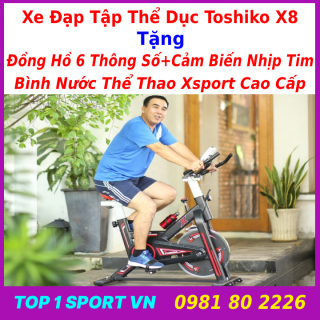 Nhà máy xe đạp thể dục Toshiko X8 Elipsport X-SPEED cung cấp trực tiếp xe đạp nhà quay xe đạp trong nhà xe đạp tập thể dục siêu yên tĩnh thiết bị thể dục xe đạp tập thể dục thumbnail