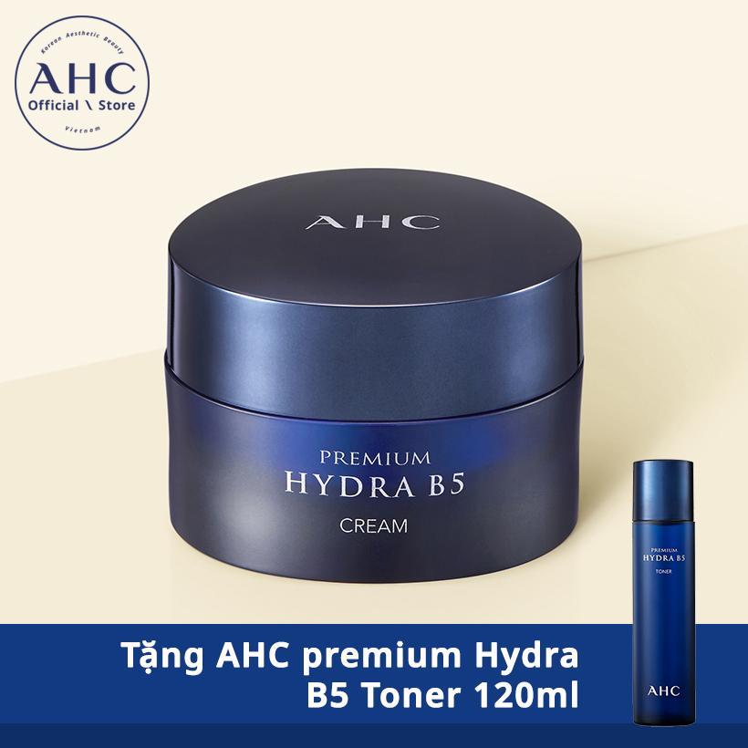 AHC premium Hydra B5 Cream 50ml Tặng AHC premium Hydra B5 Toner 120ml tốt nhất