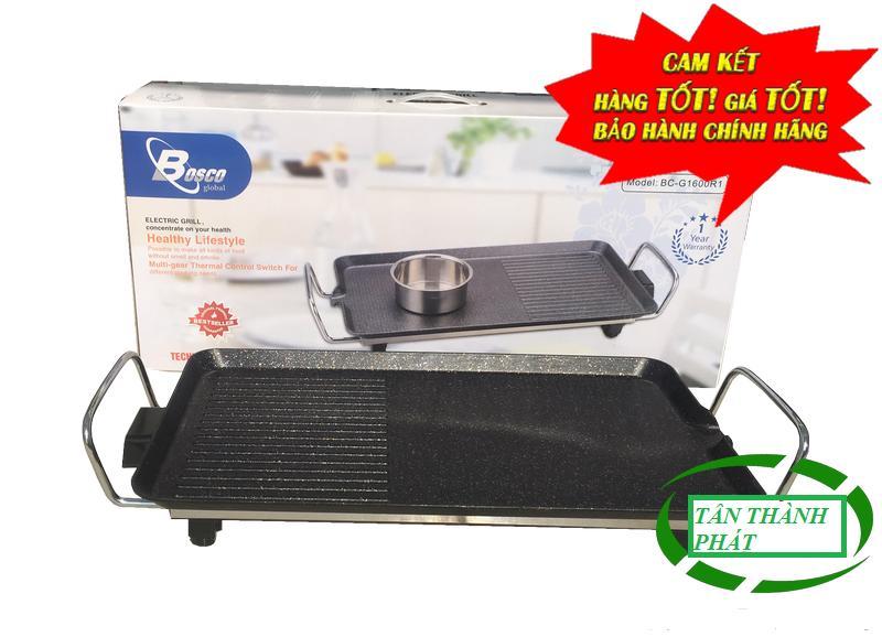 Bếp nướng điện không khói Bosco G1600R1(BH 12 tháng).