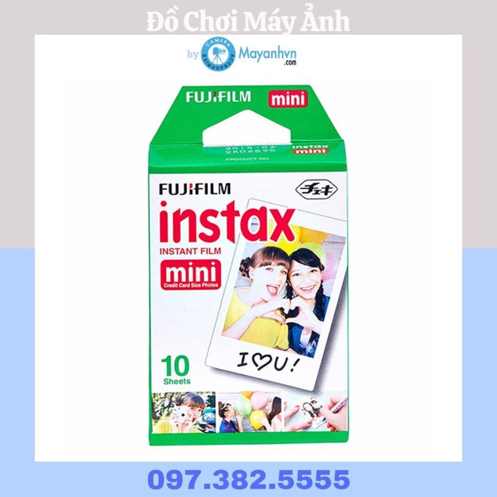 Offer Khuyến Mại Giấy In Máy ảnh Fujifilm Instax Mini (Trắng) 1 Pack/10 Kiểu