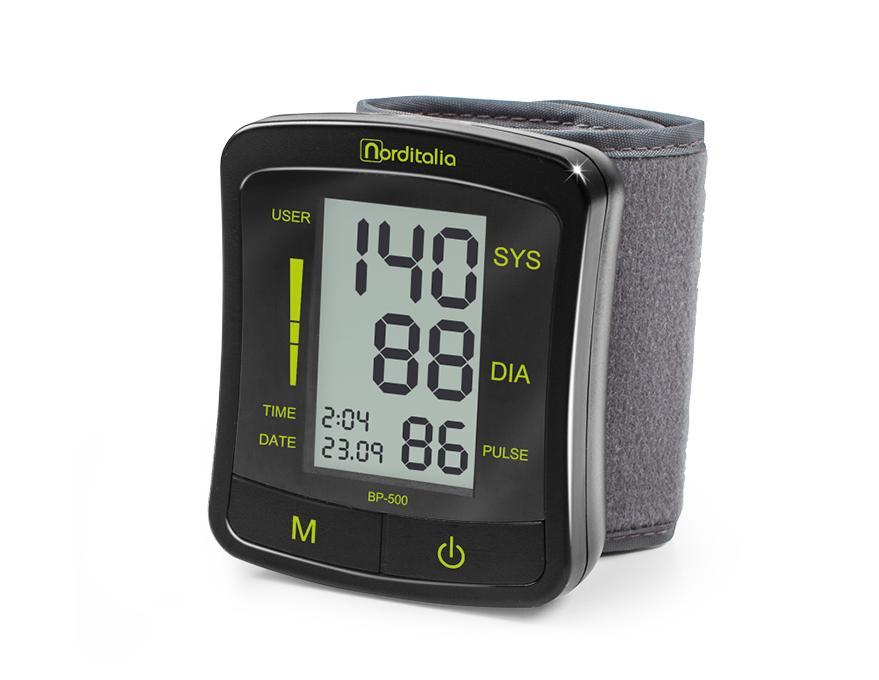 Máy đo huyết áp cổ tay Norditalia BP-500 bán chạy