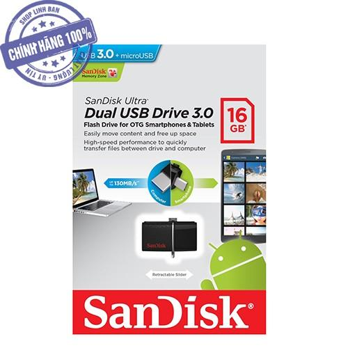 USB OTG sandisk 16GB USB 3.0
