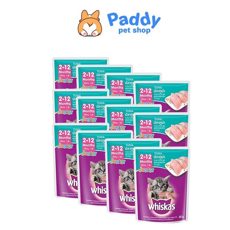 [Combo 6] Pate Whiskas cho mèo con vị cá ngừ - Combo 6 gói