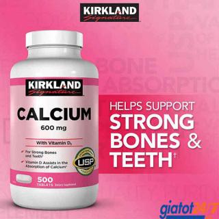 Viên Uống Canxi Kirkland Signature Calcium With Vitamin D3 thumbnail