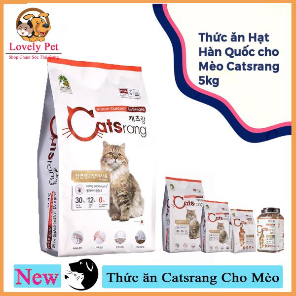 (Xả kho 3 ngày) [Mã WA090 giảm 49k đơn 315k] Lovely Pet - Thức ăn Catsrang Cho Mèo Cao Cấp (5Kg)
