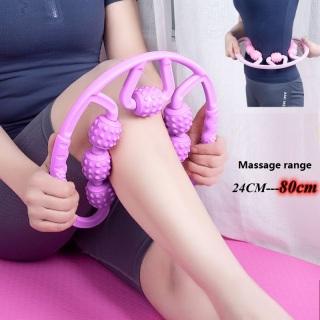 Bảy bánh xe massage vòng chân eo massage vẻ đẹp chân kẹp tay cầm thiết bị tập thể dục yoga con lăn vòng chân mỏng FIT307 thumbnail