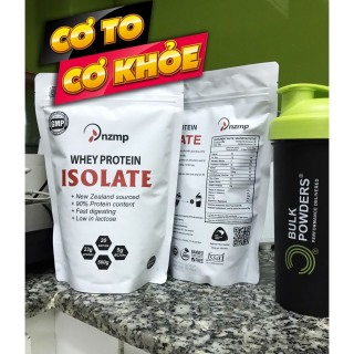 (Tặng bình lắc) COMBO 2 túi Sữa Tăng Cơ Giảm Mỡ - Whey Protein Isolate nzmp (40 lần dùng) thumbnail