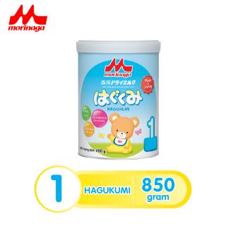 Sữa Morinaga Số 1 Hagukumi Nhật Bản 850g (Tách đai, có tem chính hãng) date T3 2022 thumbnail