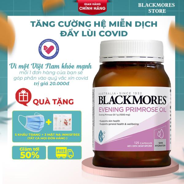 Blackmores Evening Primrose Oil - Viên uống tinh dầu hoa anh thảo  Blackmores 125 viên cân bằng nội tiết tố nữ