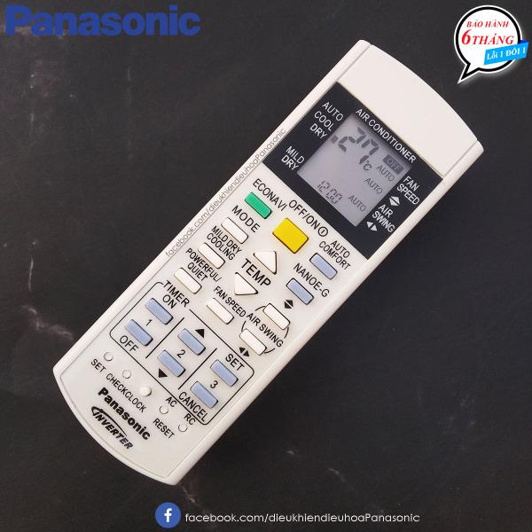 Bảng giá Remote điều khiển điều hòa máy lạnh Panasonic 1 chiều Inverter