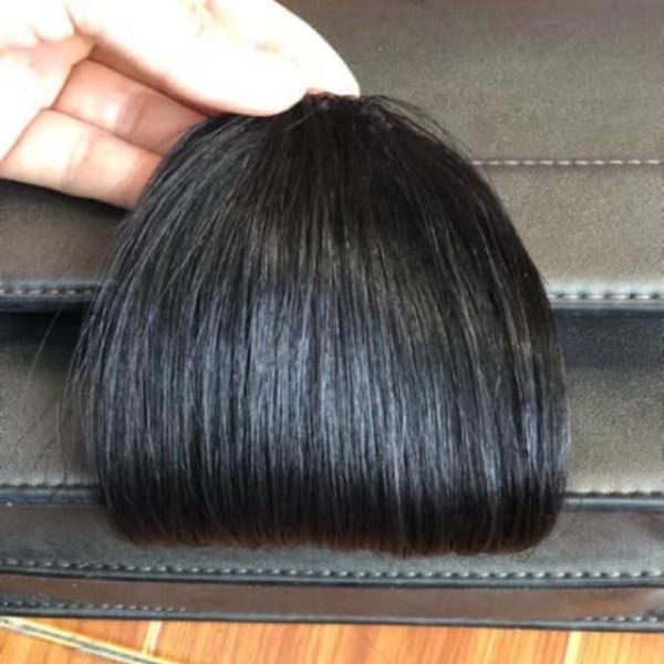 Mái ngố tóc thật dệt tay 100% | Hình thật + video thật giá rẻ