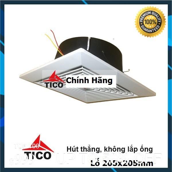 Quạt hút gió âm trần- hút thẳng TICO TC-15AV5, lỗ 200 × 200 (mm)