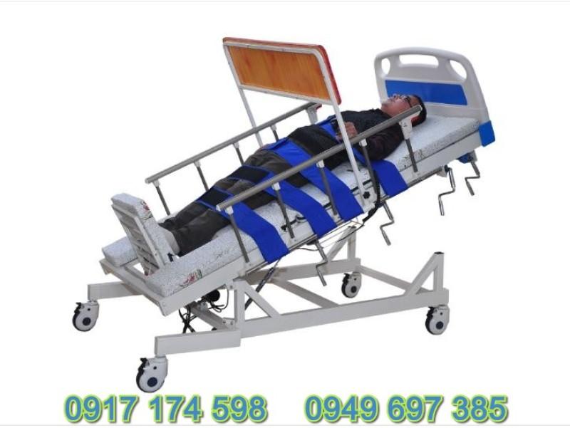 Giường chăm sóc bệnh nhân đa chức năng kèm tính năng tập đứng - Giường tập đứng