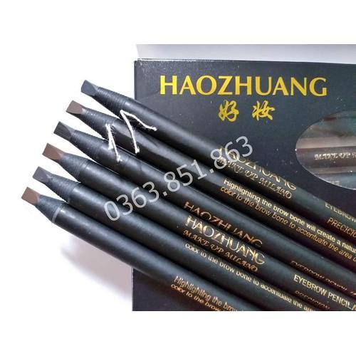 Chì xé kẻ chân mày Haozhuang (Màu số 6) - Màu đen tốt nhất