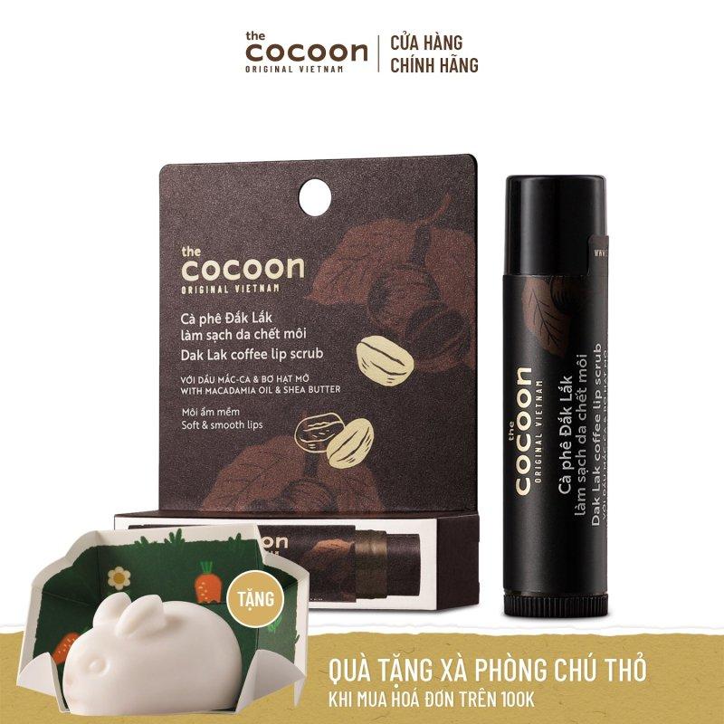 Cà Phê Đăk Lăk Làm Sạch Da Chết Môi Cocoon 5g giá rẻ