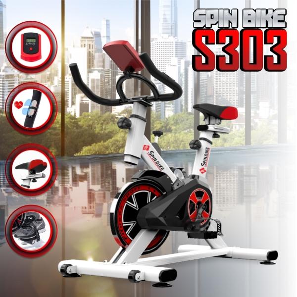 BG Xe đạp tập thể dục thể thao Spining bike Mẫu S-303 mới