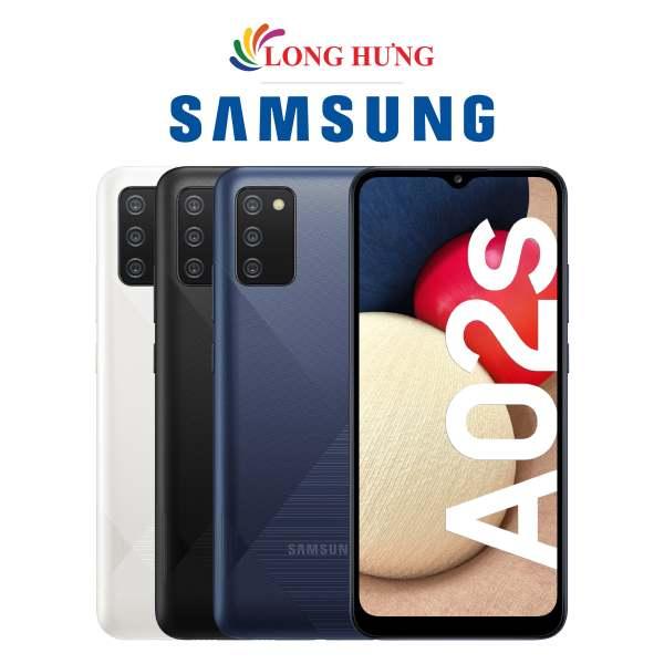 Điện thoại Samsung Galaxy A02s (4GB/64GB) - Hàng chính hãng - Màn hình 6.5inch HD+, bộ 3 Camera sau, Pin 5000mAh