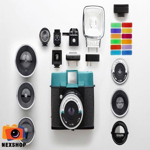 Giá Máy Ảnh Phim Lomo Diana Instant Square Camera Deluxe Kit | Bảo hành 12 tháng